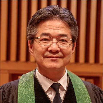 プロフィール写真:高橋牧師